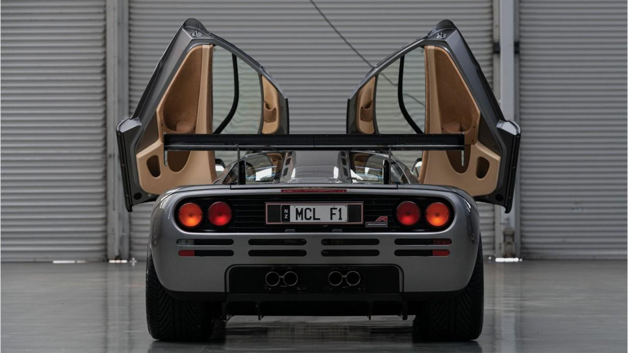 The McLaren F1 could fetch $21 million to $23 million at an auction on Aug. 15.