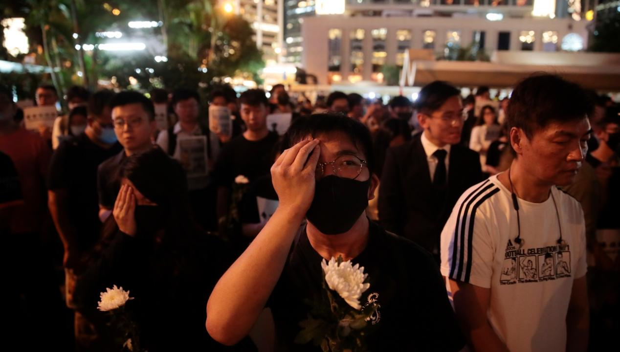 Several leading pro-democracy activists were arrested Friday, according to Jonathan Hunt who is reporting from Hong Kong.