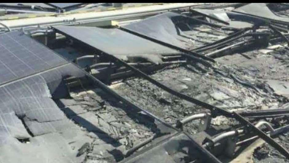 Walmart is suing Tesla over their solar panel fires at seven of its stores.