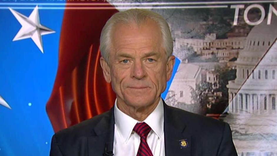 White House trade adviser Peter Navarro on the massive market selloff, the U.S.-China trade dispute and how the Treasury Department designated China as a currency manipulator.