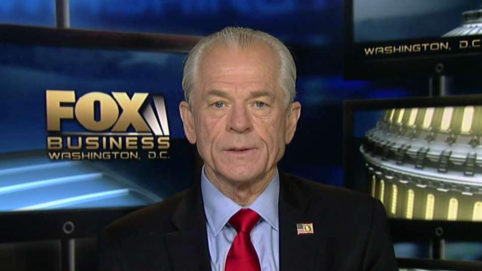 White House assistant for trade and manufacturing Peter Navarro on U.S. trade tensions with China, Federal Reserve policy and the state of the economy.