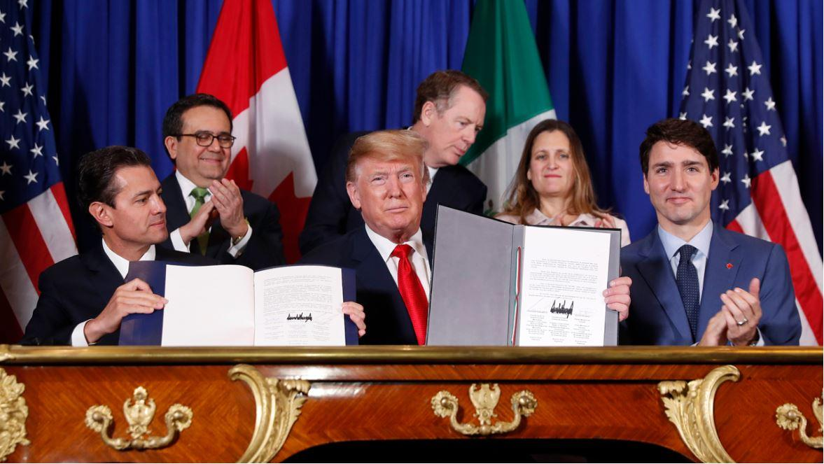 Former Commerce Department Deputy Director Chris Garcia discusses developments on the US-Mexico-Canada Agreement as it awaits congressional approval.