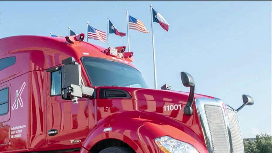 Self-driving semi-trucks are on the road in Texas, but it's still an experimental program.
