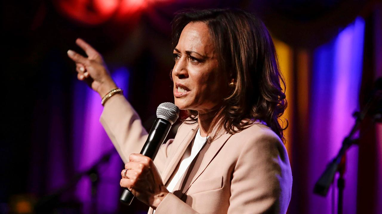 Reason features editor Peter Suderman on 2020 presidential candidate Kamala Harris's (D) health care plan and her claim that she's uncomfortable with Sen. Bernie Sanders' (I-Vt.) plan.