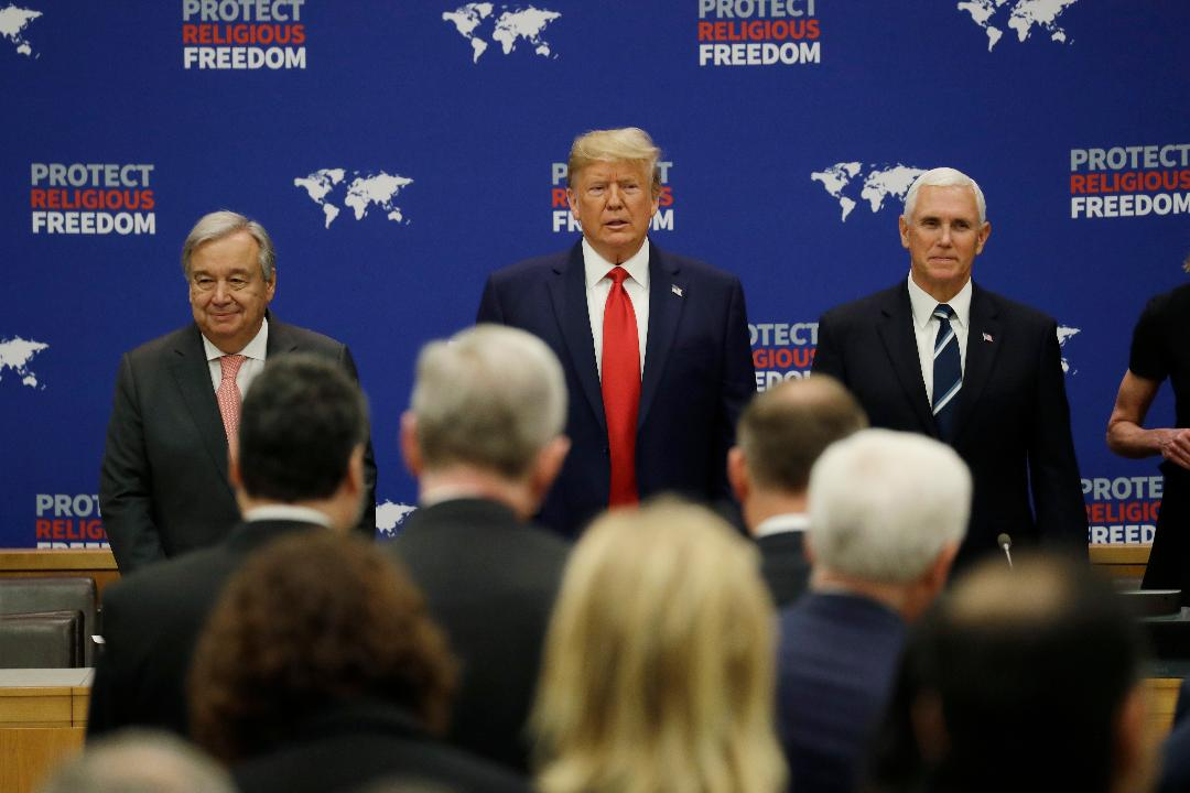 Stuart Varney's take on President Trump preparing to speak to friends and allies at the United Nations General Assembly.