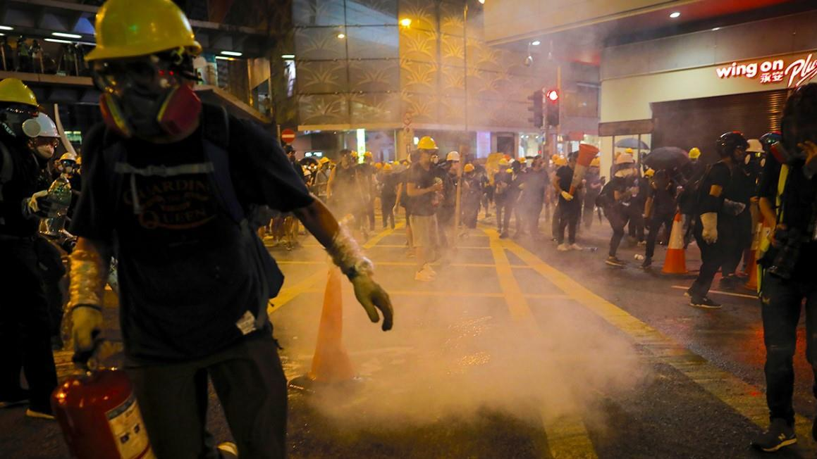 Former CKE Restaurants CEO Andy Puzder discusses the effects of Hong Kong protests on American money.