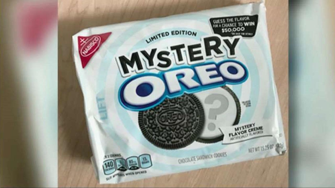 Oreo releases a new 'mystery flavor' and wants people to guess what it is for $50,000.
