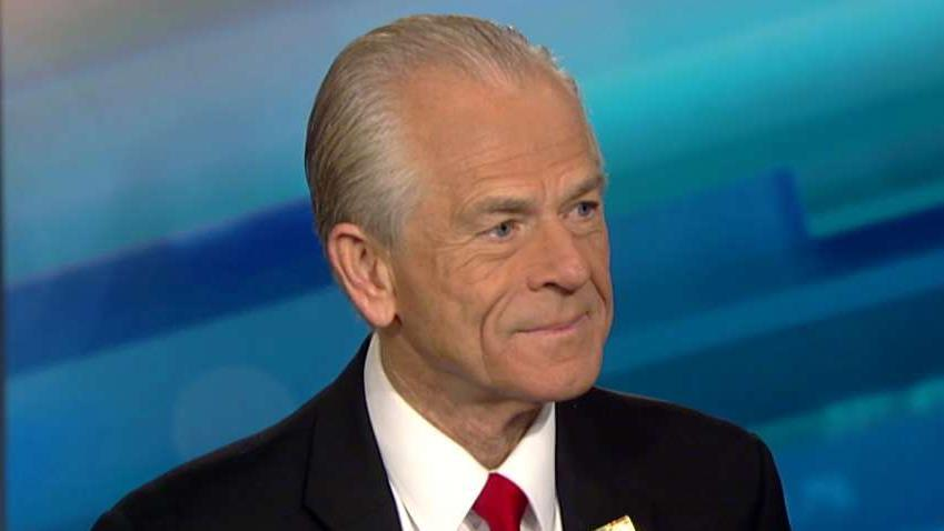 Assistant to President Trump Peter Navarro on China trade.