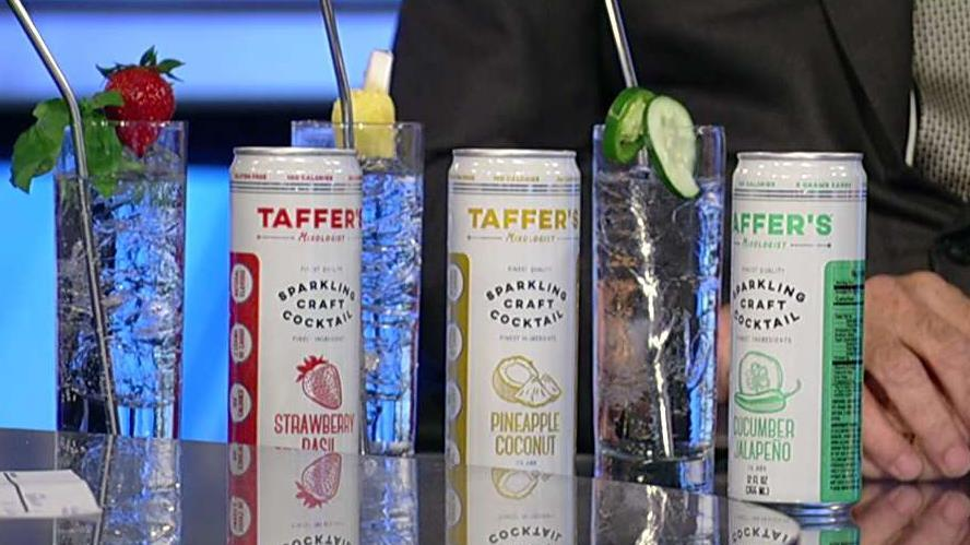 'Bar Rescue' host Jon Taffer introduces his new hard seltzer brand.