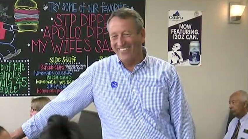 Former South Carolina Senator Jim DeMint discusses Mark Sanford's intention to challenge President Trump in a primary and Joe Biden's electoral prospects.