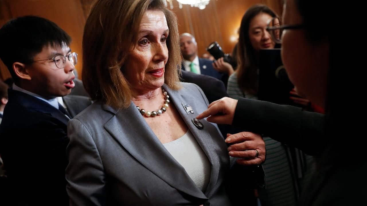 House Speaker Nancy Pelosi's news conference on prescription drug prices.