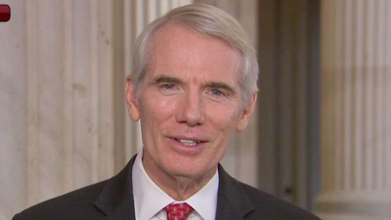 Sen. Rob Portman (R-OH) joins FOX Business' Charles Payne in a discussion on helping Ukraine and ending government shutdowns.