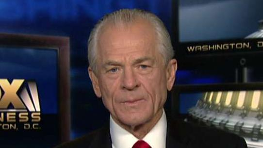 White House Trade Adviser Peter Navarro on U.S., China trade talks, Huawei and the European Central Bank's decision to lower interest rates.