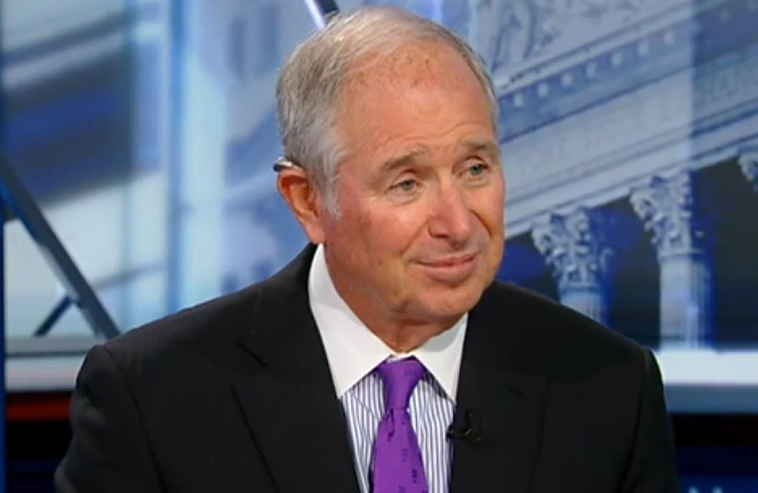 Blackstone CEO explains what falling global rates signal