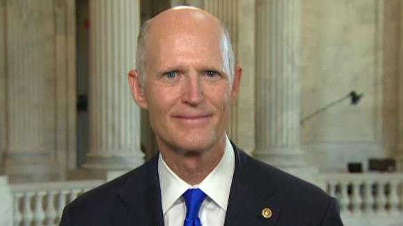 Florida Sen. Rick Scott on medicare-for-all and the American Security Drone Act.