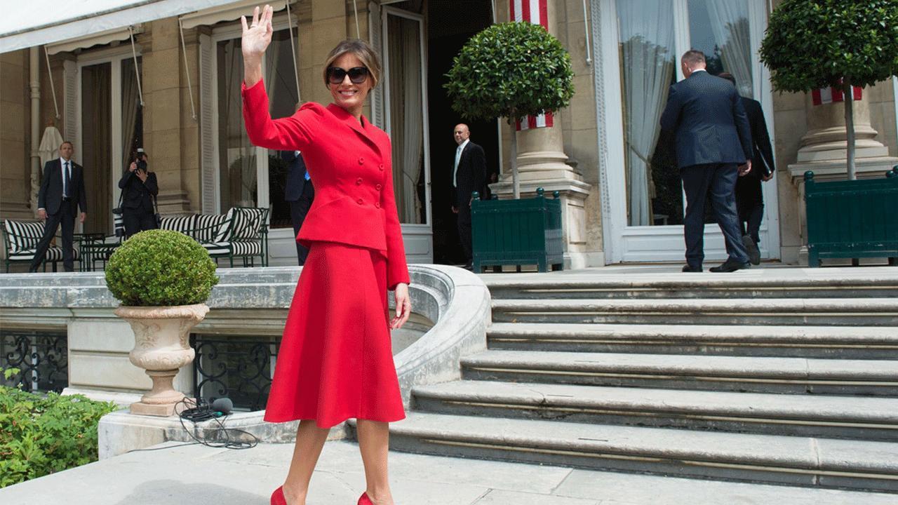 White House Press Secretary Stephanie Grisham on Melania Trump's plan to visit the New York Stock exchange.