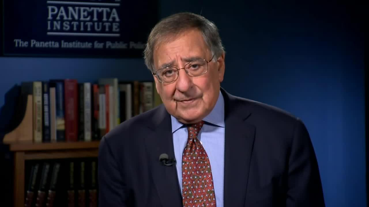 'With regards to the military option, the problem as we all know is that anytime there is a military strike against Iran, just based on my own experience as Secretary of Defense, it was pretty clear that the Iranians would respond to that kind of strike by attacking our forces in the region,' Panetta told FOX Business' Maria Bartiromo.