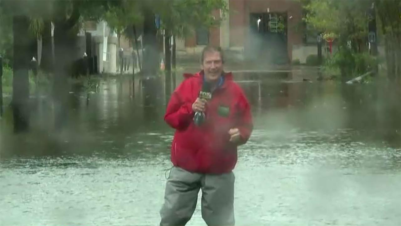 FBN's Jeff Flock with the latest on the impact of Hurricane Dorian on South Carolina.