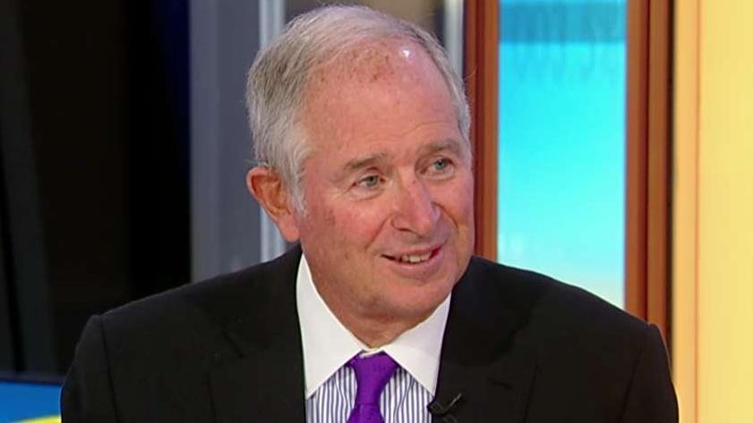 Blackstone chairman and CEO Stephen Schwarzman talks about the release of his new book 'What It Takes.'