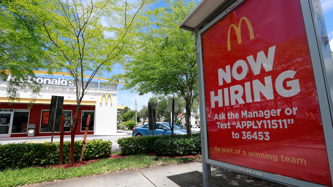 Alexa can assist with the McDonald's restaurant job application process. FOX Business' Cheryl Casone with more.