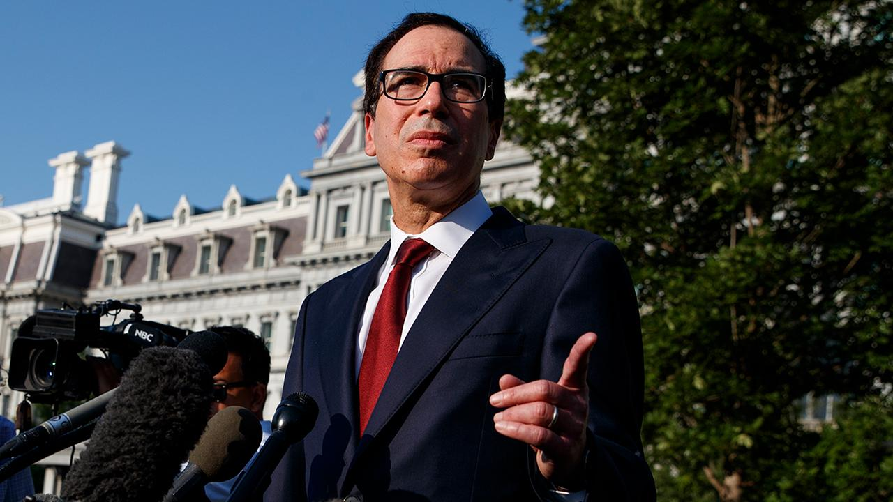 On today's episode of 'Lou Dobbs Tonight', Lou speaks with Treasury Secretary Steven Mnuchin ahead of more U.S.-China trade talks; plus, sources claim that the whistleblower did not have 'firsthand knowledge' of President Trump's call with the Ukrainian president.