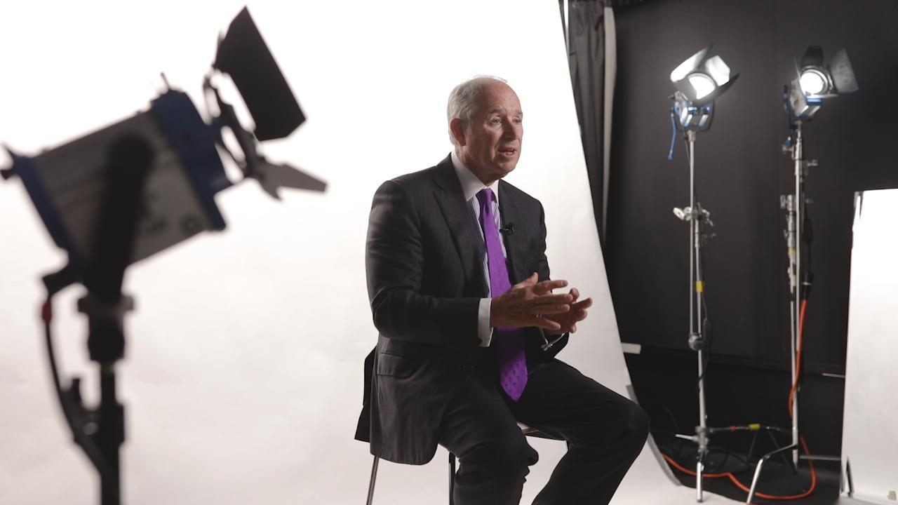 Blackstone CEO Stephen Schwarzman describes his ranking system for potential employees.