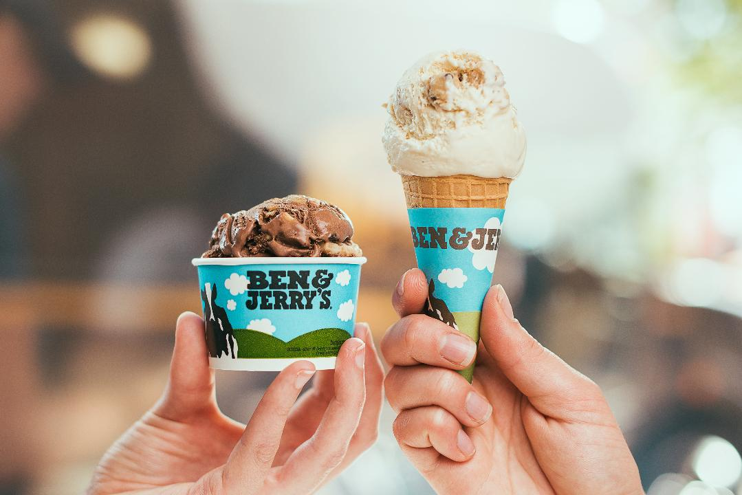 The two co-founders of the Ben & Jerry's ice cream brand are scooping up some sweet treats to convince voters that Bernie Sanders is the candidate they need in the White House come 2020.