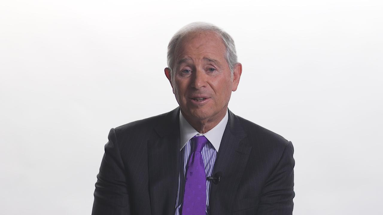 Blackstone CEO Stephen Schwarzman shares the best way to solve a problem.