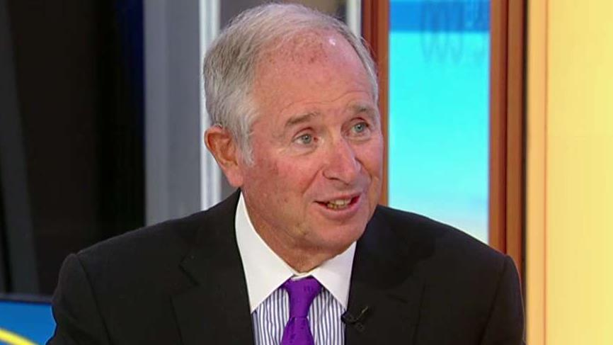 Blackstone CEO Stephen Schwarzman discusses China trade and the wealth tax.