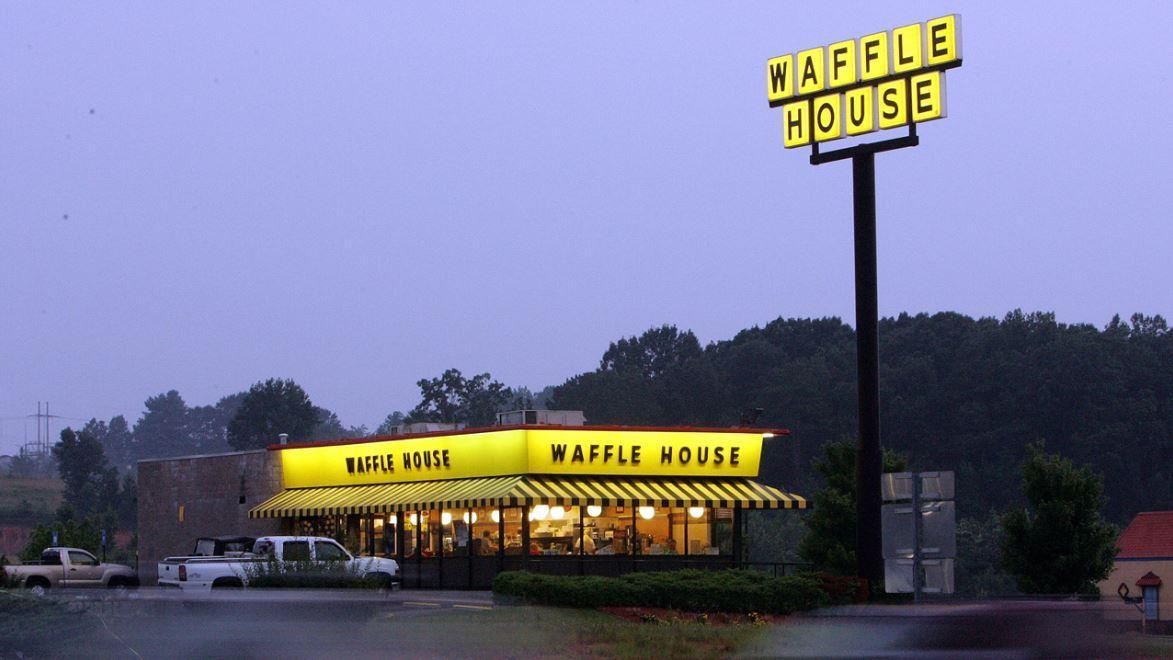 Waffle House CEO Walt Ehmer explains the Waffle House index used by FEMA to track hurricane damages and his restaurants efforts to feed people despite impending storms.