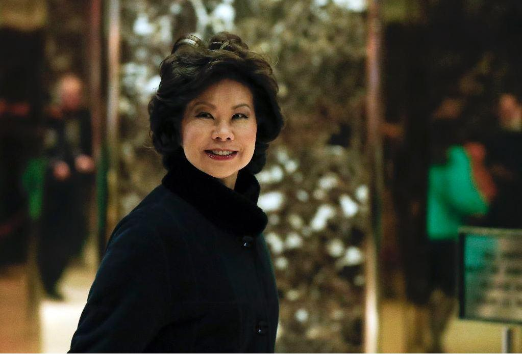 Secretary of Transportation Elaine Chao introduces the administration's position on fuel economy standards.