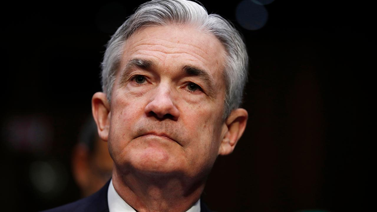 Federal Reserve Chairman Jerome Powell discussed the state of the U.S. economy and the global economic slowdown at a conference hosted by the Swiss National Bank on Friday.