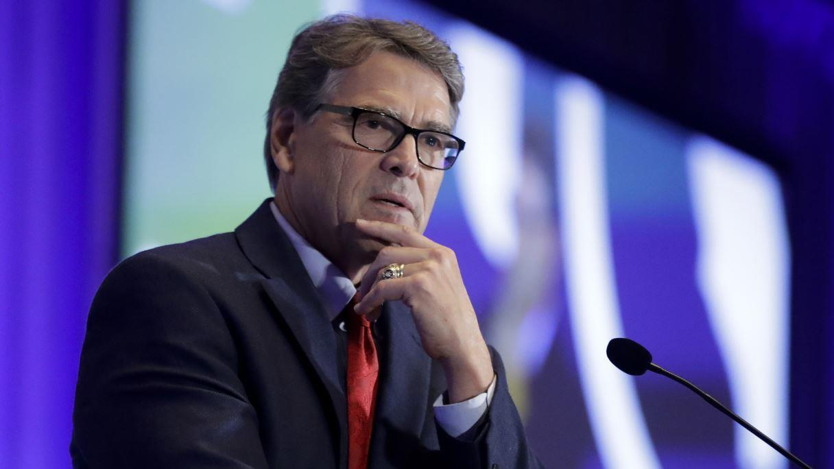 Energy Secretary Rick Perry discusses the booming American energy sector and his compliance with the Trump impeachment inquiry.