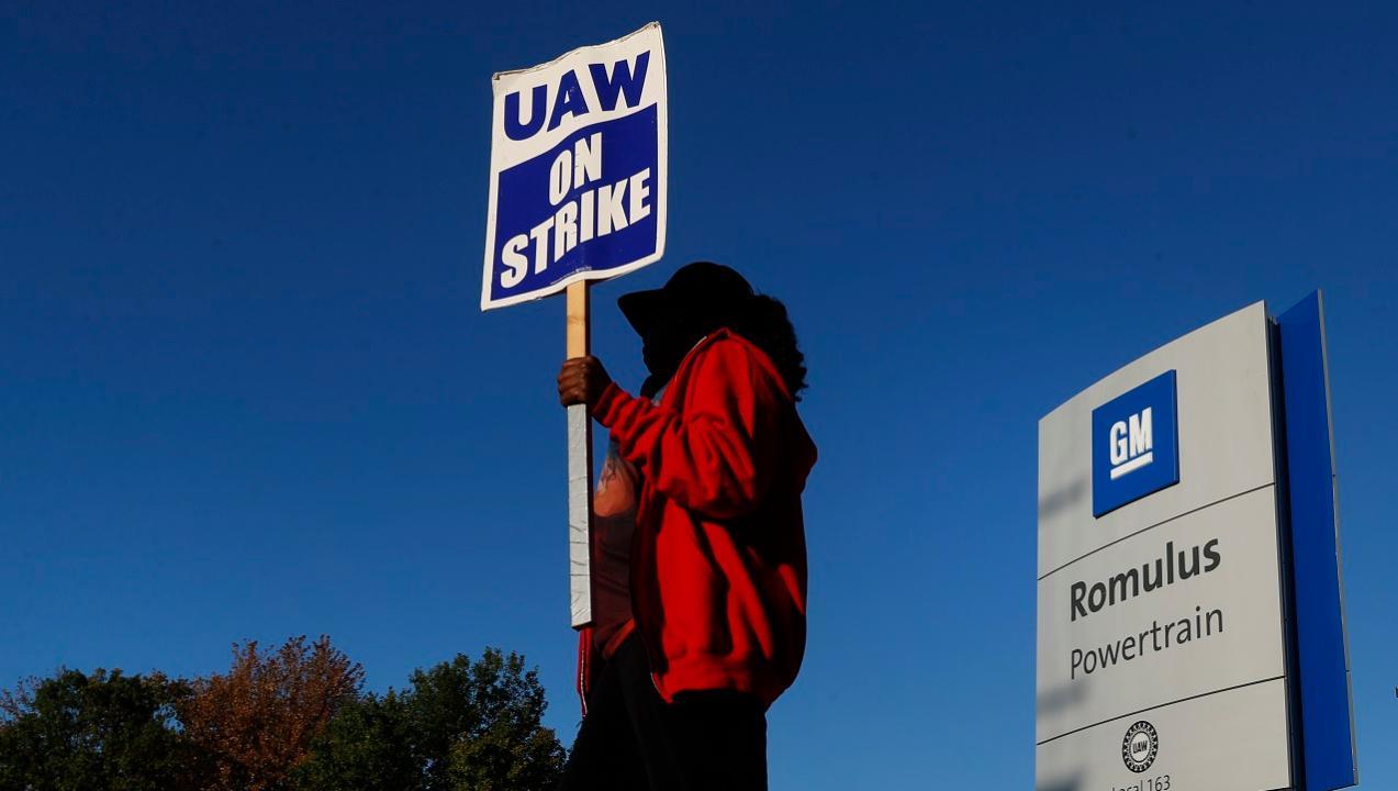 Flemington Car and Truck Country chairman Steve Kalafer speaks on the GM-UAW strike.
