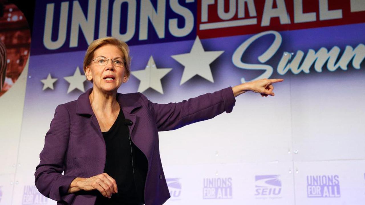 'Media Buzz' host Howard Kurtz discusses Sen. Elizabeth Warren's ongoing battle with Facebook advertising.