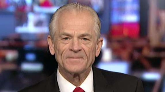 White House assistant for trade and manufacturing Peter Navarro, in a wide-ranging interview, provides insight into trade deals, market volatility, China using the Communist Party's 70th anniversary to show off new missiles, and reports of the White House considering delisting Chinese stocks.