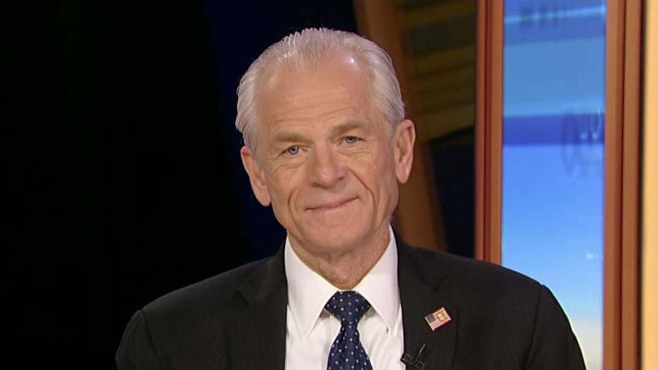 Office of Trade and Manufacturing Policy Director Peter Navarro says the USMCA is the biggest and best deal ever and is ready to be put on the floor. He also discussed China trade tensions.