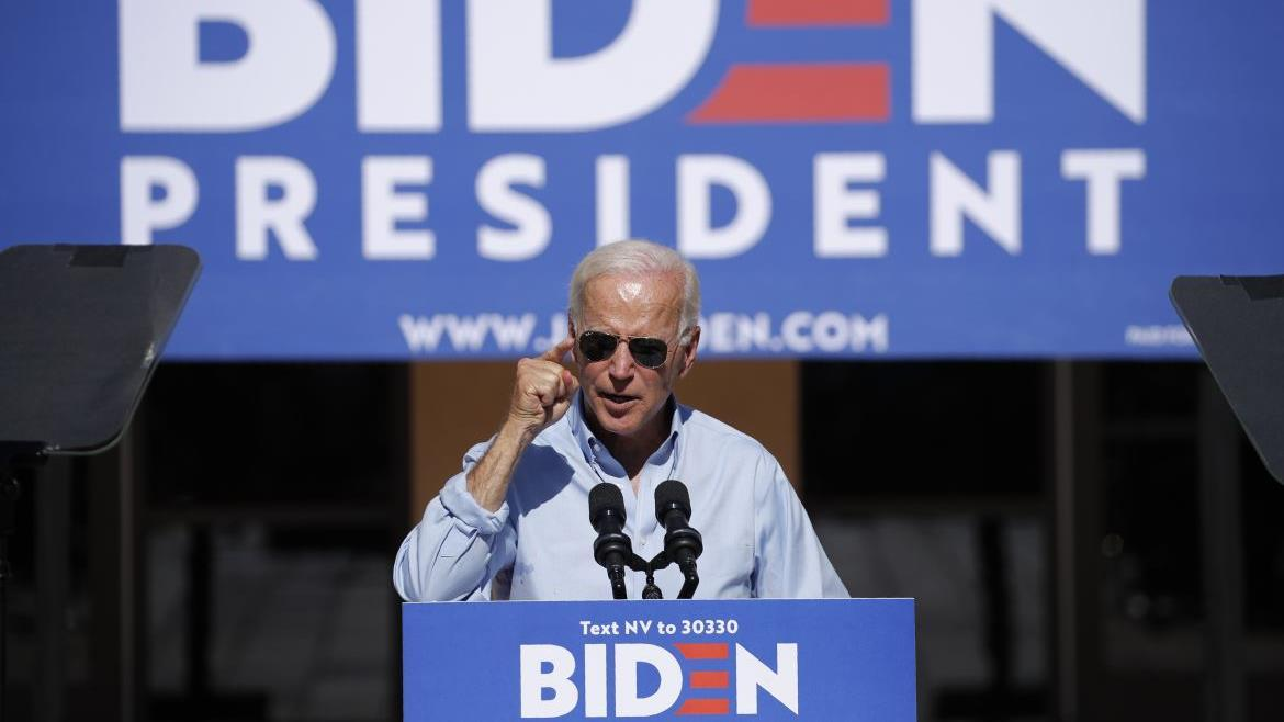 Radio host and liberal commentator Ethan Bearman discusses former Vice President Joe Biden unveiling his $750-billion education plan.