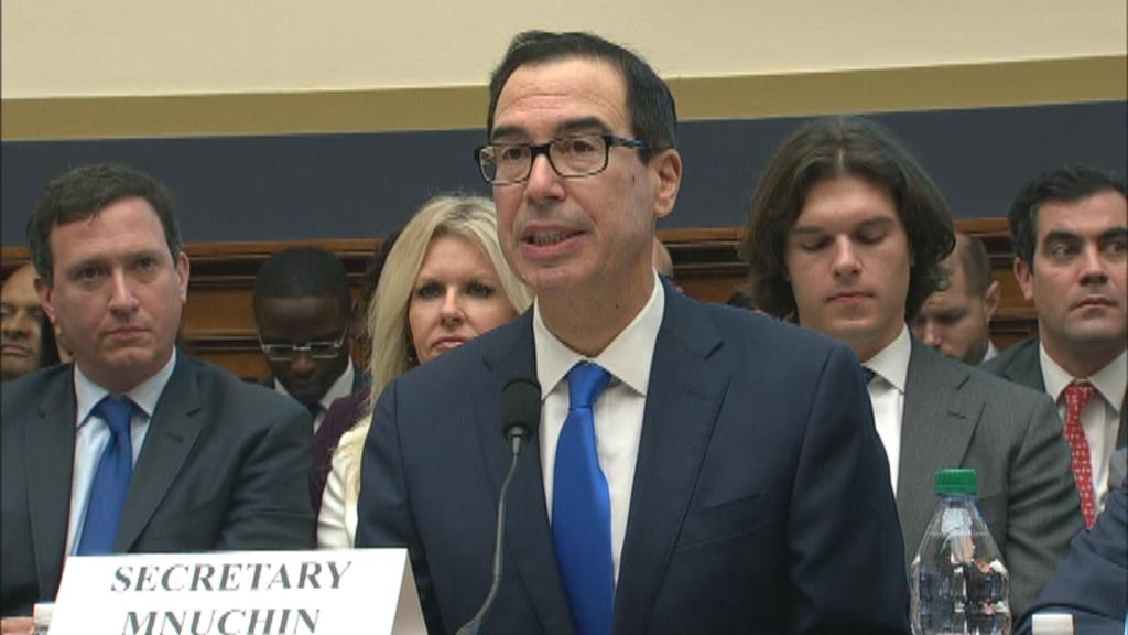 "'I was surprised and disappointed by the title of this hearing which asks whether the administration's plan 'an end to affordable housing,'"" Treasury Secretary Steven Mnuchin said."