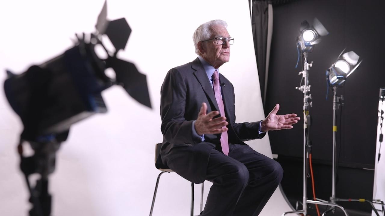 'If you're an entrepreneur, you've got to be thinking positive about what you can't even see,' Charles Schwab told FOX Business.