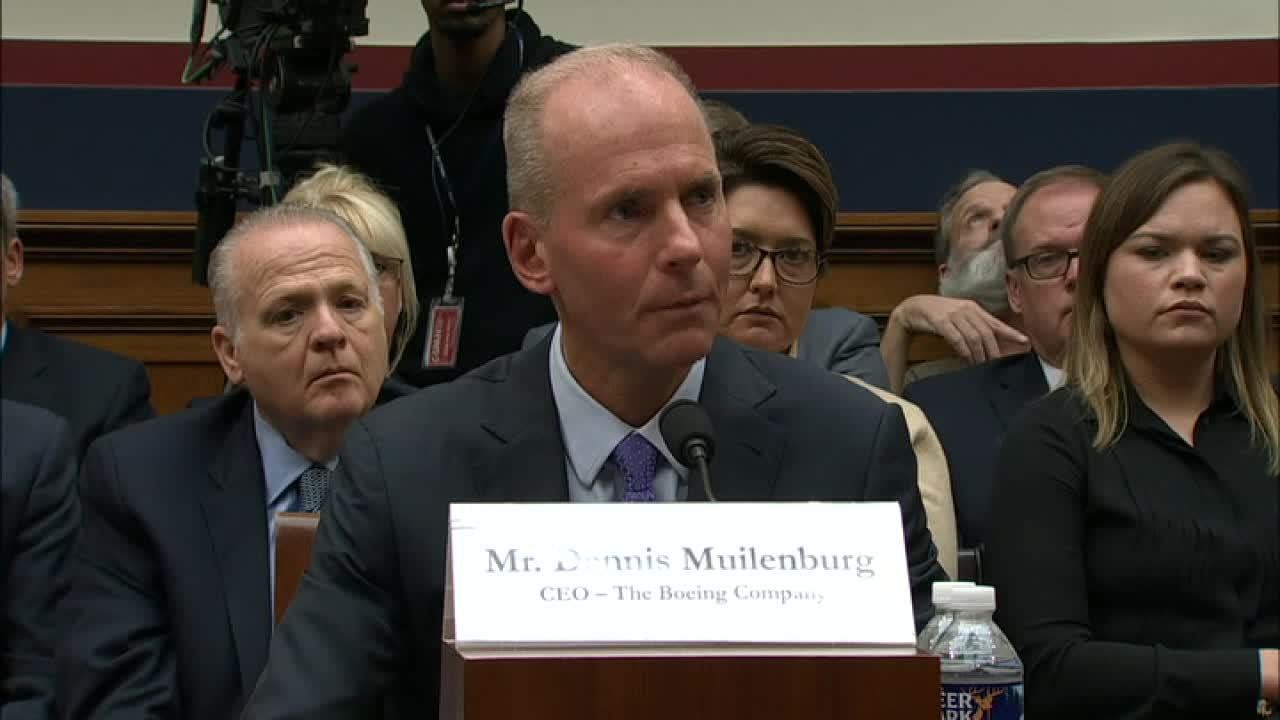 Boeing CEO Dennis Muilenburg faces off with Rep. Cohen, (D-TN), over his salary during his testimony.
