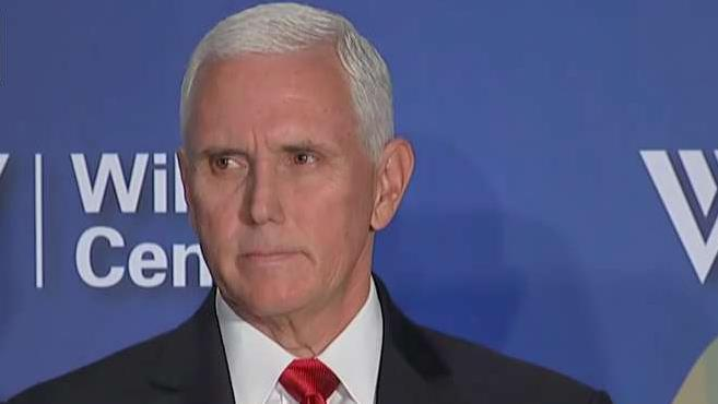 Vice President Mike Pence discusses international growth of wealth and President Trump's national security strategy.