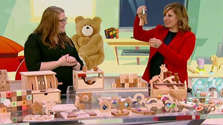 Bannor Toys CEO and founder Stacey Bannor on creating handmade, wooden toys that are meant to last.