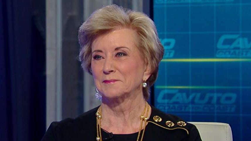 Former Small Business Administration administrator under Trump and America First Action PAC board of directors Linda McMahon discusses Trump's accomplishments, experience and future as president.