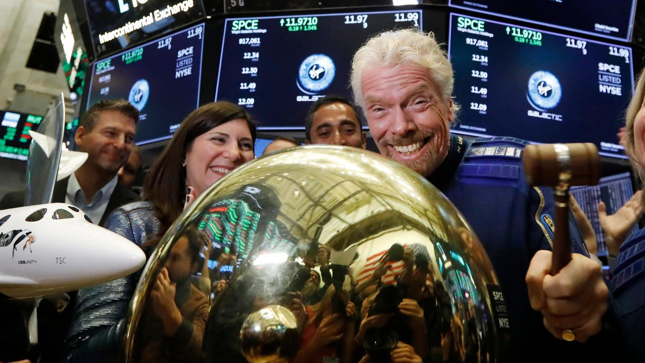 Virgin Galactic founder Sir Richard Branson, Social Capital CEO Chamath Palihapitiya and Virgin Galactic CEO George Whitesides discuss the future of Virgin Galactic and space tourism technology, doing business with Saudi Arabia and Brexit.