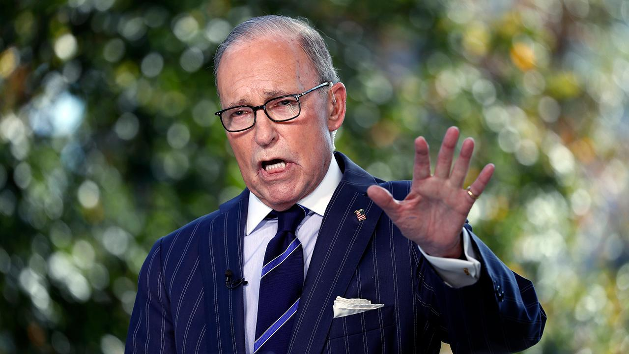 National Economic Council Director Larry Kudlow says it's not China that is causing a manufacturing export slowdown, it's Europe.