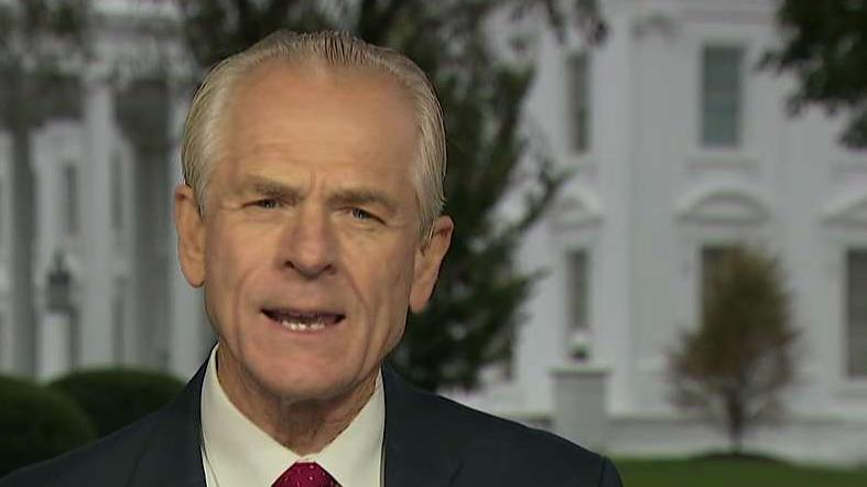 White House Trade Adviser Peter Navarro believes the USMCA is taking way too long due to Speaker of the House Nancy Pelosi and the Democrats.