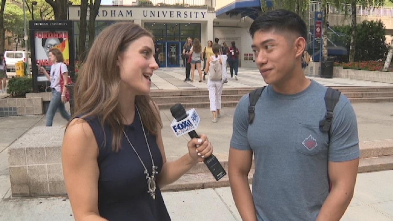 FOX Business' Kristina Partsinevelos asks college students if they're investing money in the stock market.