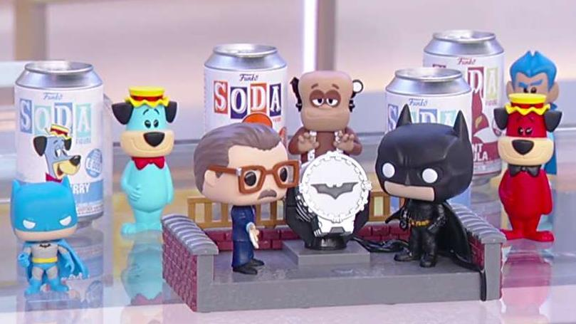 Funko CEO and director Brian Mariotti about their new line of collectible 'soda' products and figures.