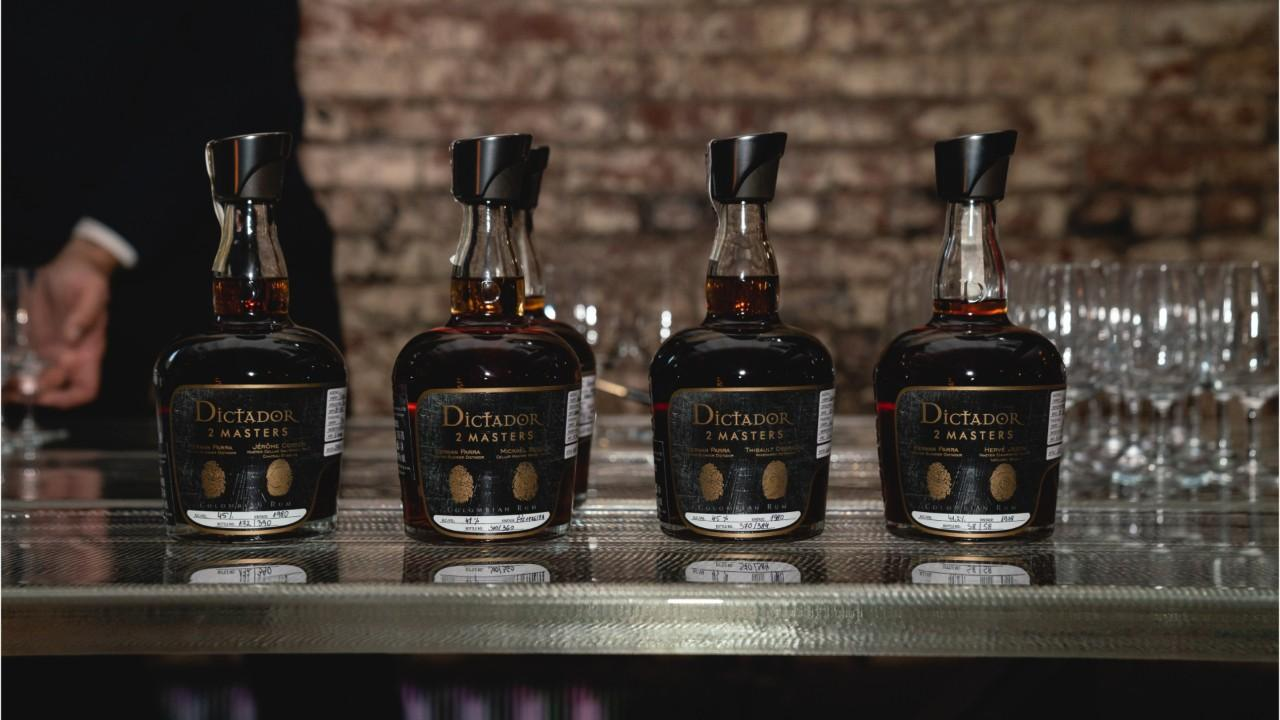Fingerprint technology on the bottle? It's all part of the way Dictador is trying to ensure collectors they have the real thing.